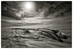 Sastrugi One, Antarctica 2011
